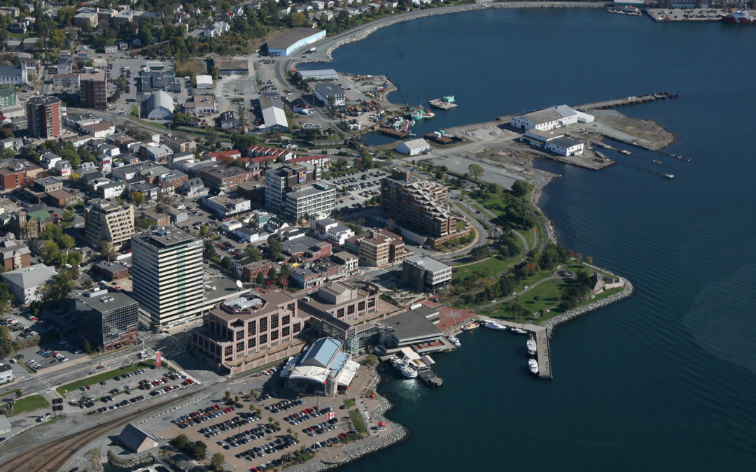 ALDERNEY 5 EXPERIMENTAL SEAWATER PROJECT COOLS MUNICIPAL BUILDINGS IN HALIFAX